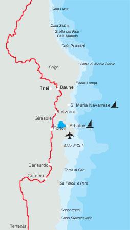 Cartina Sardegna Barisardo.Pesca Sportiva In Ogliastra A Santa Maria Navarrese
